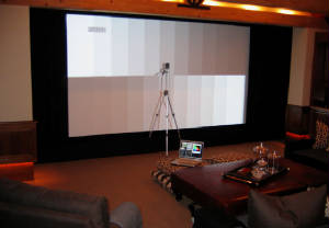 Studio Exec's Home Theater